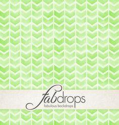 Green Watercolor Arrows Backdrop