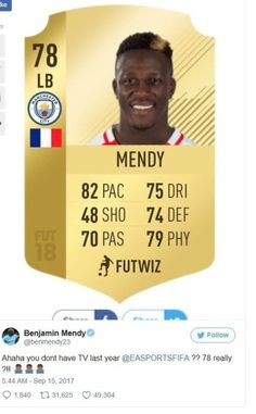 Actual Players Question Virtual Counterparts FIFA 18 Stats