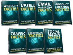 350 Sales Marketing Tactics.eBook With MRR.