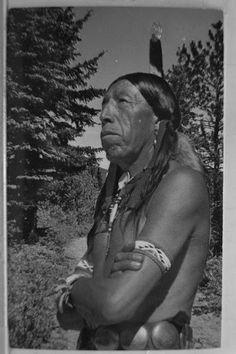 Benjamin Black Elk (the son of Nicholas Black Elk) - Oglala - circa 1940