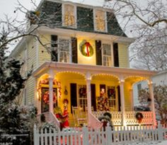 Christmas in Cape May #DiscoverCapeMayNJ