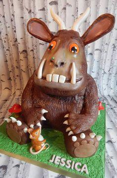 Gruffalo cake, all edible. Cake body & rkt head