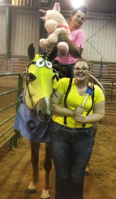 Homage to Despicable Me at the show :0)  -  Costume class