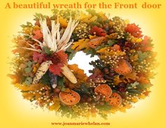 Allow the different seasons to inspire you and your life.  www.joanmariewhelan.com