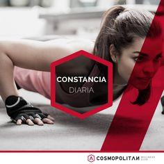 Hacer #ejercicio es la clave para estar en forma. Se constante y realízalo al menos tres veces a la semana