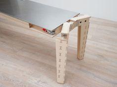 Work & Turn table by atelier JMCA » Retail Design Blog