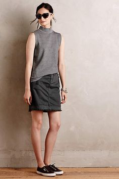 Zipped Utility Skirt - #anthrofave