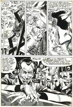 Our Army at War # 222 p.11. by Joe Kubert - Comic Strip