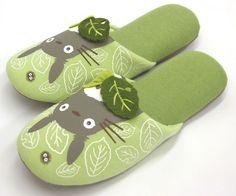 My Neighbor Totoro Slippers Nice to meet Ghibli anime home footwear From Japan #MyNeighborTotoro #SlipperShoes
