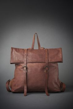 lostbotdesign leather backpack 2015 collection