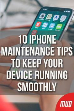 10 iPhone Maintenance Tips to Keep Your Device Running Smoothly - Hacks Iphone Hacks, Iphone 8, Cell Phone Hacks, Smartphone Hacks, Iphone Codes, Iphone Information, Iphone Secrets, Party Deco, Ipad Hacks