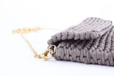 Knitbag - greige  www.wearwool.com