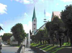 Kirchen, Munich, All Pictures, Country, Building, Travel, Santiago De Compostela, El Camino, Centre