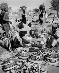 A market in Kano, 1960s
