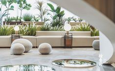 Experience Center, Lobby Lounge, Outdoor Furniture Sets, Outdoor Decor, Kids Room, Clouds, Landscape, Living Room, Interior Design