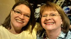 With the incredible Bobbi Dumas who founded Read-A-Romance Month. She's a really talented lady...and a huge supporter of the romance genre. At the 2015 RWA conference in NYC.