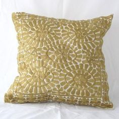 Embroidered Cushion 09