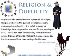 Religion and Duplicity.