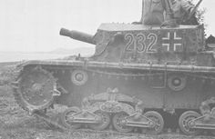 A Italian Semovente used by German forces
