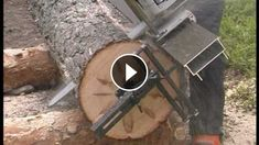 """The Most Ingenious Chainsaw Sawmill - That is intense in design and functionality. Good idea & nice product...""""Chainsaw Sawmill""""Chainsaw sawmill from L"""