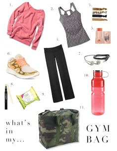 what's in my gym bag CLICK THIS PIN if you want to learn how you can EARN MONEY while surfing on Pinterest http://AFitBeachBody.com