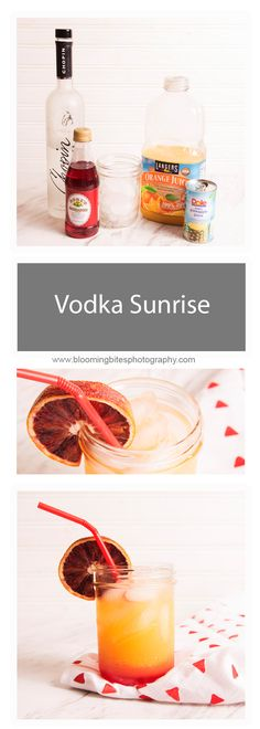 Vodka Sunrise - This