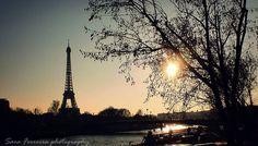 #paris #beautiful #romantic #eiffeltour #sun