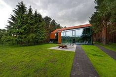 Modern house in Lithuania by Studija Archispektras