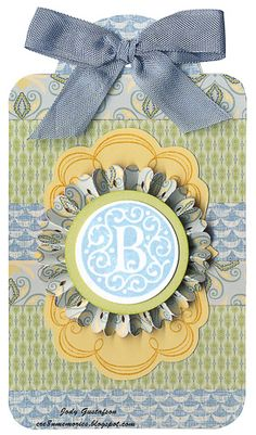 love this tag...would look great on a gift or even used as a book marker!