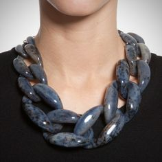 Lobster Claw Closure Nate Necklace by Diana Broussard by Diana Broussard