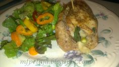 Reclaim your Health through                     Healing Cuisine: Stuffed thighs