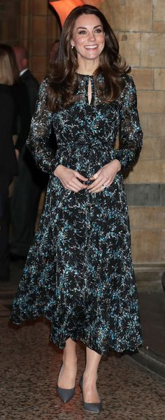 The royal mother-of-two goes keeps up with engagements from day to night in frocks fit for any occasion.