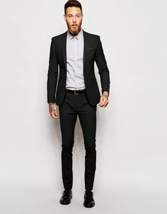 Jumpsuit With Double Layer Halter | Suits, Beards and Smart casual