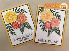 See how easy it is to use just part of an embossing folder to create a beautiful border and how to use the Misti to add more than one color to your image! Me...