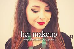 Zoe's make up is always perfect