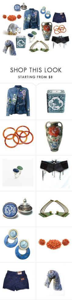"""""""Sunday's Feature Picks"""" by patack ❤ liked on Polyvore featuring Alexander McQueen, Lazuli and vintage"""