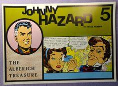 JOHNNY HAZARD #5 1950's The Alberich Treasure COLOR Pacific Comics Club Club Anni Trenta Adventure Newspaper Comic Strips Collection