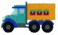 Hama beads Truck