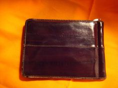 Vintage  Genuine Eel Skin 1950s  60s  Money Clip  by sweetsweep, $50.00