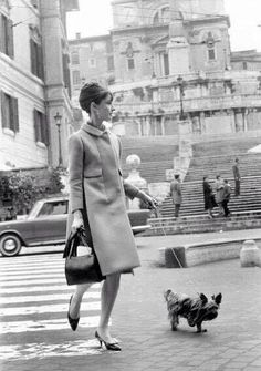 Audrey Hepburn in Rome, 1962 vianineteen-fifty-four