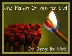Amen! God has the power to use you to help the world, even if it's just one person's world.