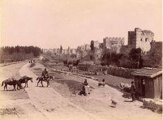 1910 lu yıllarda istanbul surları