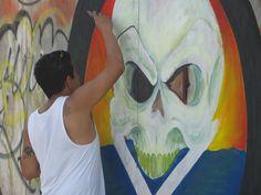 #Beach #artist #Cancun #Mexico