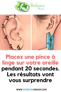 Place a clothespin on your ear for 20 seconds. The results will surprise you Home Medicine Natural Blood Pressure, Lower Blood Pressure, Health And Wellness, Health Tips, Health Fitness, Fitness Workouts, Medical Jokes, Medical Brochure, Home Medicine