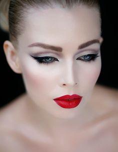 El maquillaje retro también es protagonista en las bodas 2015