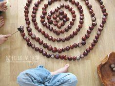Kasztanowe układanki - kreatywna zabawa dla dzieci Beaded Necklace, Inspiration, Diy, Drill Bit, Fall Season, Crafting, Beaded Collar, Biblical Inspiration, Pearl Necklace