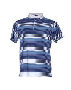 BAGUTTA Men's Polo shirt Blue S INT