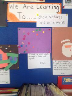 Learning goals-kindergarten