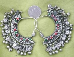 For someone who says they are not into jewelry, I sure am a silver whore. These are sooo pretty.