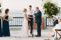 Whitney and Sam's Chicago Wedding on the Rooftop at Navy Pier » Two Birds Photography
